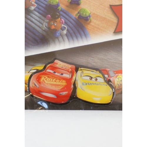 Disney Japan Pin 2017 Pixar Cars 3 Mcqueen Cruz Ramirez Secret Novelty - K23Japan -Tokyo Shopper-
