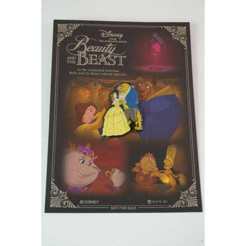 Disney JAPAN Pin Beauty & The Beast 2017 Princess Belle Novelty - k23japan -Tokyo Disney Shopper-