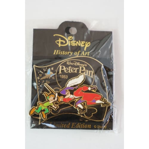Disney Japan Pin History Of Art Le Peter Pan 1953 Captain Hook - K23Japan -Tokyo Disney Shopper-