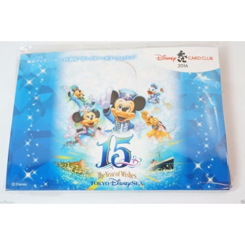Disney Japan Pin Jcb Card Club 2016 Tds 15Th Anniversary Mickey - K23Japan -Tokyo Shopper-