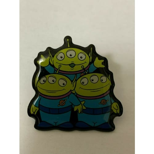 Disney JAPAN Pin Pixar 2017 Novelty Not For Sale Toy Story Alien Green Men - k23japan -Tokyo Disney Shopper-