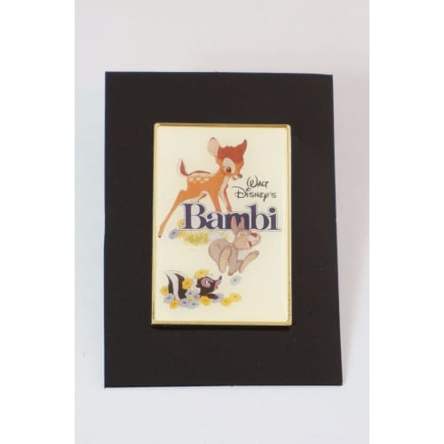 Disney Japan Pin Uniqlo Collaboration Le Art Poster Bambi - K23Japan -Tokyo Shopper-