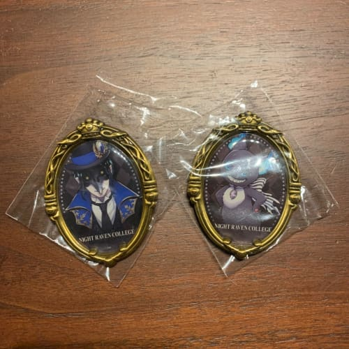 Disney Japan x Twisted Wonderland Pin Brooch Night Raven College Dire & Grim - k23japan -Tokyo Disney Shopper-
