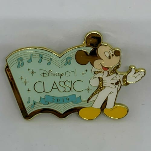 Disney On CLASSIC JAPAN 2019 LE Prize Pin Mickey Special Size - k23japan -Tokyo Disney Shopper-
