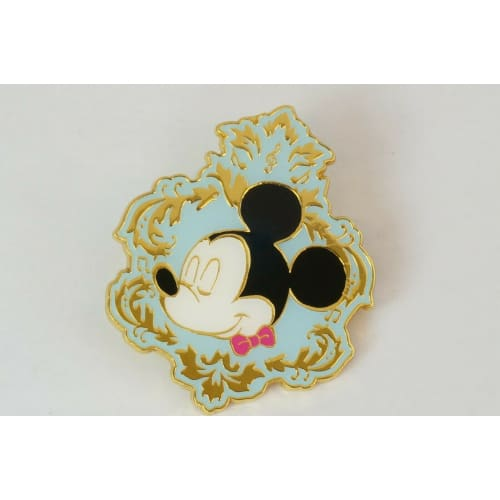 Disney On Classic JAPAN Pin Big Size Secret Mickey - k23japan -Tokyo Disney Shopper-