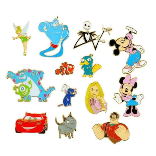 Disney Store Japan Pin 25Th Anniversary Box Each Sell Mickey Opening - K23Japan -Tokyo Shopper-