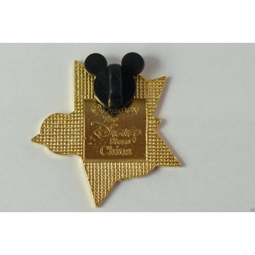 Disney Store Japan Pin Classic Costume Red Star Mickey - K23Japan -Tokyo Shopper-