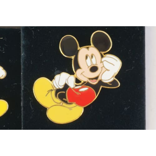Disney Store Japan Pin Classic Mickey 3 Pins Set - K23Japan -Tokyo Disney Shopper-