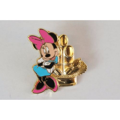 Disney Store Japan Pin Happy New Year Lucky Draw Omikuji Minnie - K23Japan -Tokyo Shopper-
