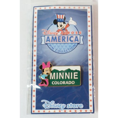 Disney Store Japan Pin Le 2000 Across America Colorado X Minnie - K23Japan -Tokyo Shopper-