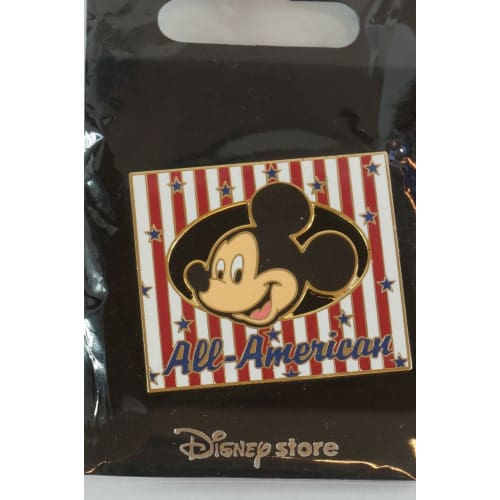 Disney Store Japan Pin Mickey All American Usa Jds - K23Japan -Tokyo Shopper-
