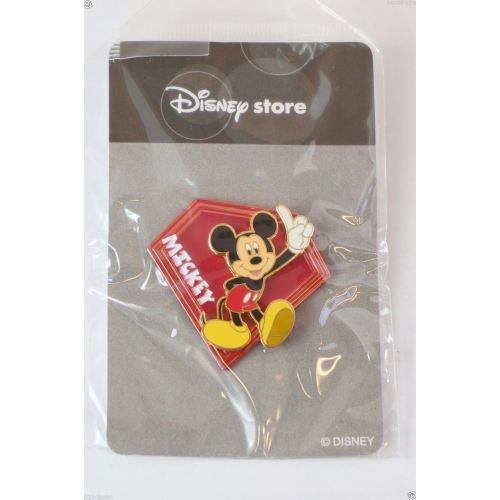 Disney Store Japan Pin Mickey Tail Coat Character Name - K23Japan -Tokyo Shopper-