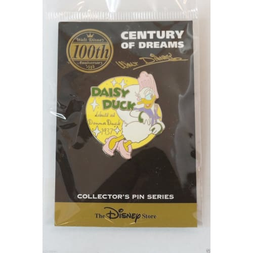 Disney Store Japan Pin Walt 100Th Century #48 Daisy Duck 1938 Donna - K23-Japan