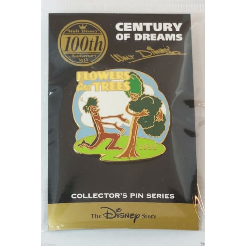 Disney Store Japan Pin Walt 100Th Century #68 Flowers & Trees 1932 - K23Japan -Tokyo Shopper-