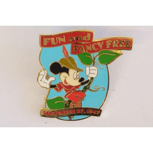 Disney Store Japan Pin Walt 100Th Century #97 Fun & Fancy Free 1947 Mickey - K23Japan -Tokyo Disney Shopper-