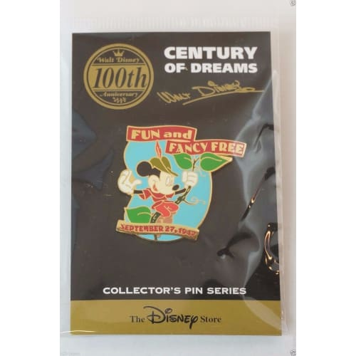 Disney Store Japan Pin Walt 100Th Century #97 Fun & Fancy Free 1947 Mickey - K23Japan -Tokyo Shopper-
