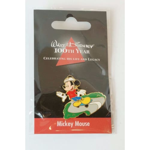 Disney Store Japan Pin Walt 100Th Legacy Mickey Mouse Skate Board Jds - K23Japan -Tokyo Shopper-