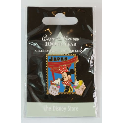 Disney Store Japan Pin Walt 100Th Legacy The Minnie X Jds - K23-Japan