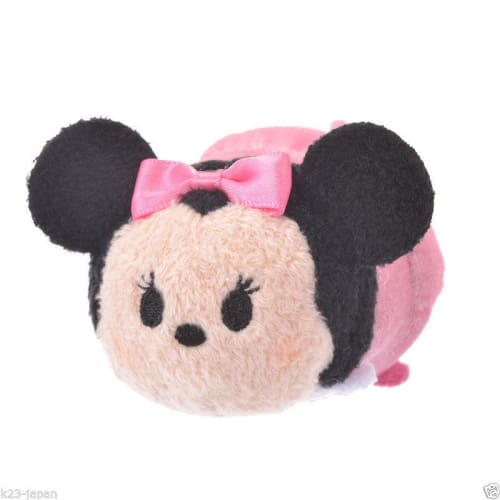 Disney Store Japan Tsum 2017 Classic Style Minnie 3 Piece Set - K23Japan -Tokyo Shopper-