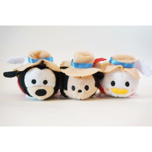 Disney Store Japan Tsum 4Th Anniversary Each Sell The Three Musketeers - K23Japan -Tokyo Shopper-