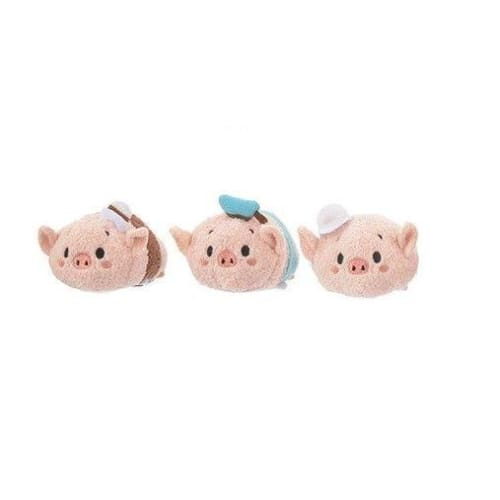 Disney Store Japan Tsum 4Th Anniversary Each Sell Three Little Pigs