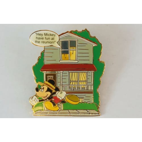 Disney World Pin 2001 Mickey At The Reunion Dlr - K23Japan -Tokyo Shopper-