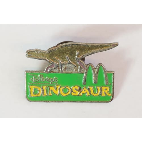 Disney World Pin Dinosaur Mcdonalds - K23Japan -Tokyo Disney Shopper-