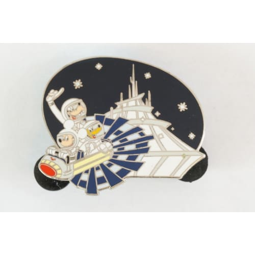 Disney World Pin Le 2500 Dlr Space Mountain Mickey Pluto Goofy Soundsation - K23Japan -Tokyo Shopper-