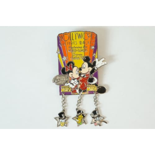 Disney World Pin Le 675/2001 Hollywood Mickey Minnie Artist Choice Dca - K23Japan -Tokyo Shopper-