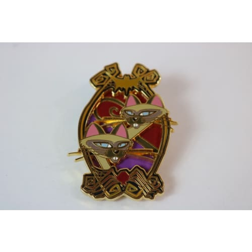 Disney World Pin Le 679 / 900 Paris Si & Am Lady & The Tramp Dlp - K23Japan -Tokyo Disney Shopper-