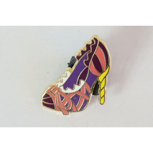Disney World Pin Trading 2012 Princess Shoe Rapunzel Tangled - K23Japan -Tokyo Disney Shopper-
