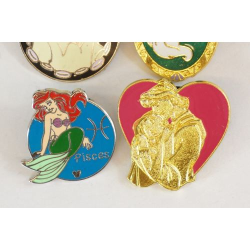 Disney World Pin Trading Ariel & Eric The Little Mermaid Set - K23Japan -Tokyo Shopper-