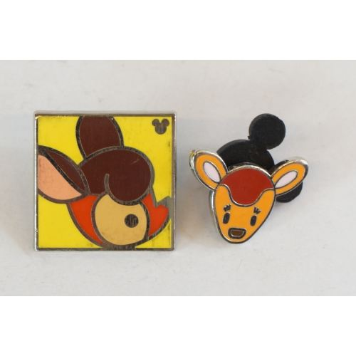 Disney World Pin Trading Bambi Set Cute - K23Japan -Tokyo Shopper-