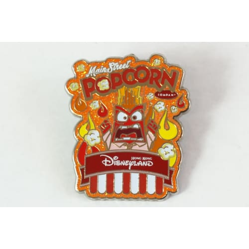 Hong Kong Disney Resort Pin Popcorn Series Angry Inside Out Hkdl - K23Japan -Tokyo Shopper-