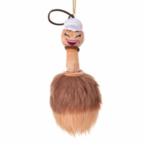 Pre-Order Disney Store JAPAN 2020 Beauty & Beast Plush Key Chain Feather Duster - k23japan -Tokyo Disney Shopper-