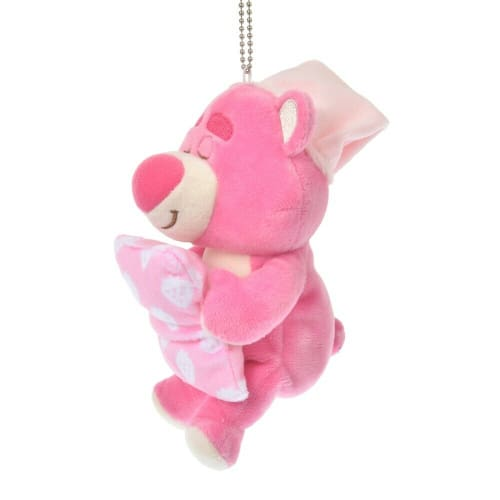 Pre-Order Disney Store JAPAN 2020 GUSSURI Good Night Plush Key Chain Lotso - k23japan -Tokyo Disney Shopper-