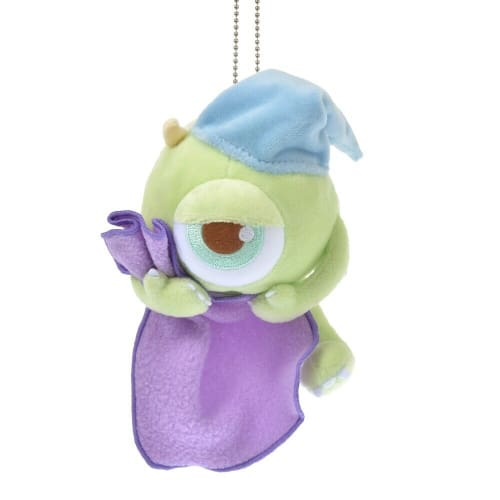 Pre-Order Disney Store JAPAN 2020 GUSSURI Good Night Plush Key Chain Mike - k23japan -Tokyo Disney Shopper-