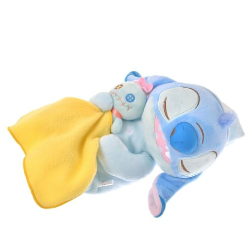Pre-Order Disney Store JAPAN 2020 GUSSURI Good Night Series Plush Stitch Scrump - k23japan -Tokyo Disney Shopper-
