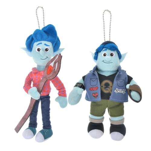 Pre-Order Disney Store JAPAN 2020 Pair Plush Key Chain Ian & Barley Onward - k23japan -Tokyo Disney Shopper-