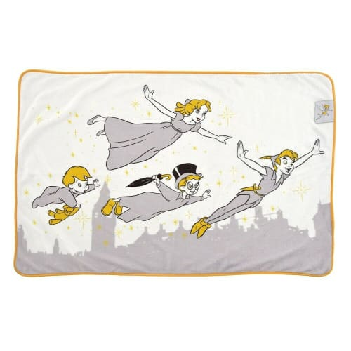Pre-Order Disney Store JAPAN 2020 Tinker Bell Peter Pan Blanket Wendy - k23japan -Tokyo Disney Shopper-