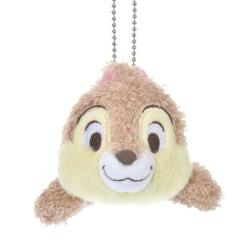 Pre-Order Disney Store JAPAN 2021 Candy Color Plush Key Chain Chip Chip & Dale - k23japan -Tokyo Disney Shopper-