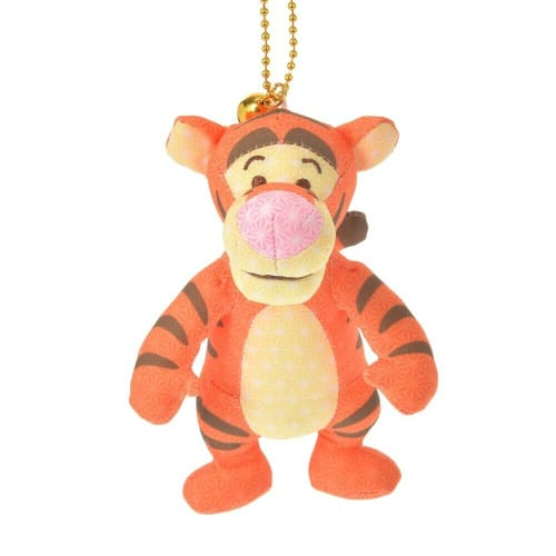 Pre-Order Disney Store JAPAN 2021 Japanese Taste Plush Key Chain Tigger - k23japan -Tokyo Disney Shopper-