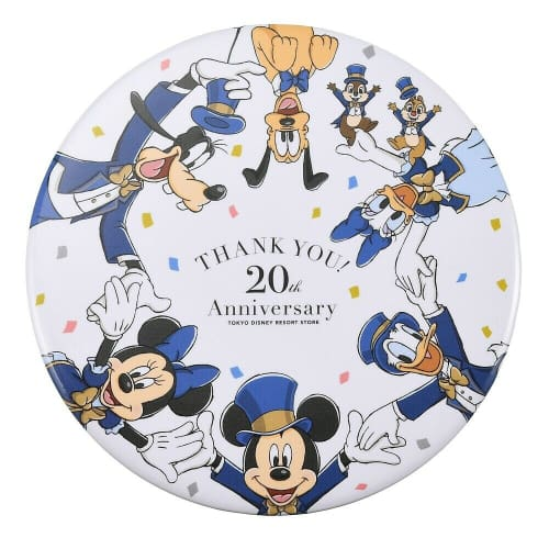 Pre-Order Disney Store JAPAN Button 2020 TDR Store 20th Anniversary - k23japan -Tokyo Disney Shopper-
