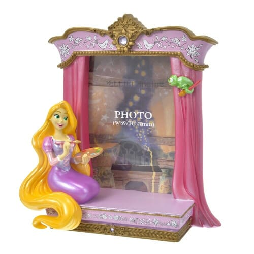 Pre-Order Disney Store JAPAN Tangled 10 Years Figure Photo Frame Rapunzel - k23japan -Tokyo Disney Shopper-