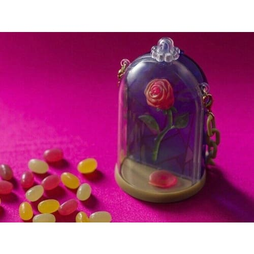 Pre-Order Tokyo Disney Resort 2020 Beauty & The Beast Snack Case Single Rose - k23japan -Tokyo Disney Shopper-