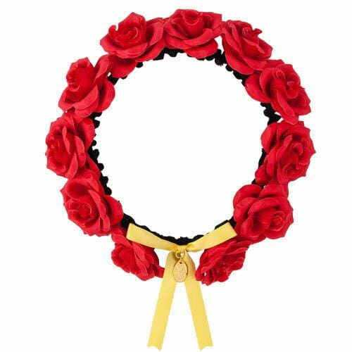 Pre-Order Tokyo Disney Resort 2020 Beauty The Beat Belle Headband Enchanted Rose - k23japan -Tokyo Disney Shopper-