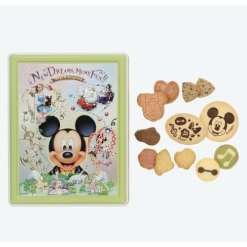 Pre-Order Tokyo Disney Resort 2020 New Area 4 Areas Mickey Sweets Can Box - k23japan -Tokyo Disney Shopper-