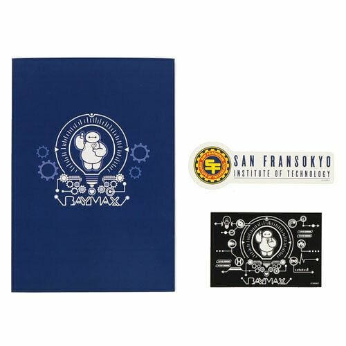Pre-Order Tokyo Disney Resort 2020 New Area Baymax Notebook with Sticker - k23japan -Tokyo Disney Shopper-
