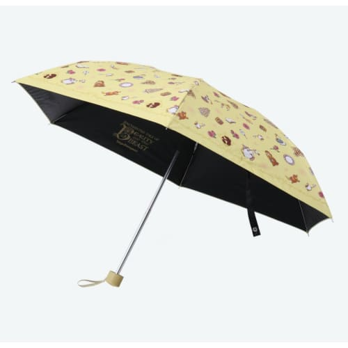 Pre-Order Tokyo Disney Resort 2020 New Area Beauty & The Beast Umbrella UV Cut - k23japan -Tokyo Disney Shopper-