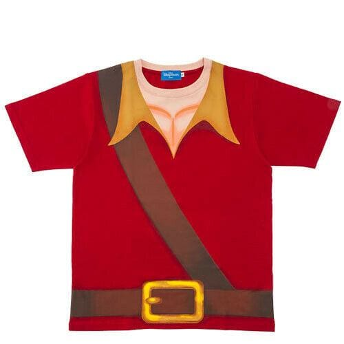 Pre-Order Tokyo Disney Resort 2020 T-Shirts Beauty & The Beast As Gaston - k23japan -Tokyo Disney Shopper-